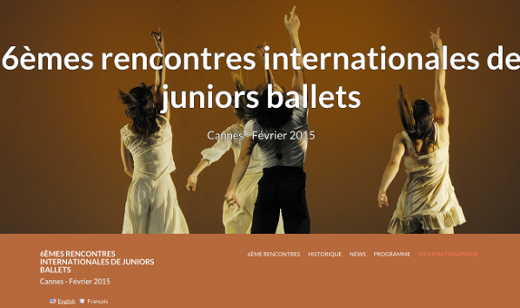 5ème rencontre internationale de junior ballets