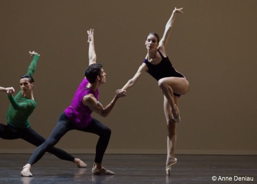 Pas./Parts de William Forsythe (Audric Bezard en rose)