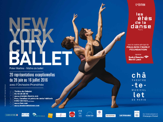 Le New York City Ballet aux Étés de la Danse