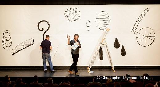 Bonnefrite et Sébastien Barrier au Théâtre des Célestins