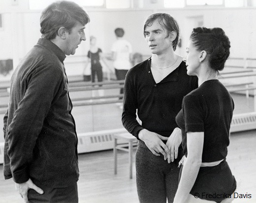 Romeo and Juliet en répétition - Kenneth macMillan, Rudolf Noureev et Margot Fonteyn