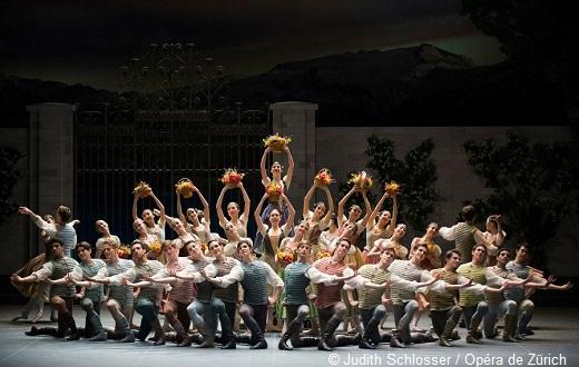 Le lec des cygnes, Alexeï Ratmansky - Ballet de Zürich