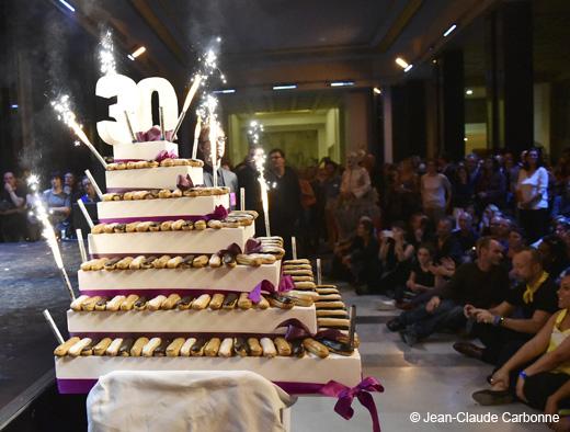 Le gâteau des 30 ans du Ballet Preljocaj
