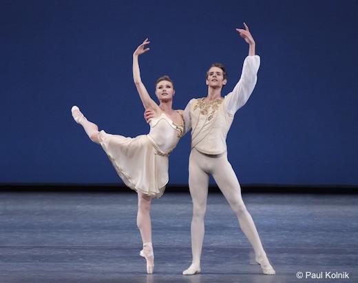 Sara Mearns et Russell Janzen - Tchaikovski Piano Concerto n°2