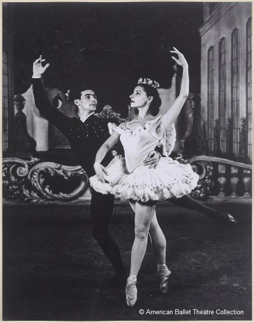 Thème et variations, George Balanchine - Igor Yousevitch et Alicia Alonso (création du ballet)