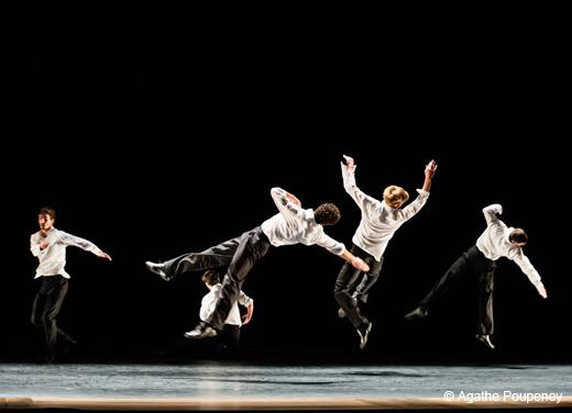 Die Grosse Fuge (La Grande Fugue) d'Anne Teresa De Keersmaeker par le Ballet de l'Opéra de Paris