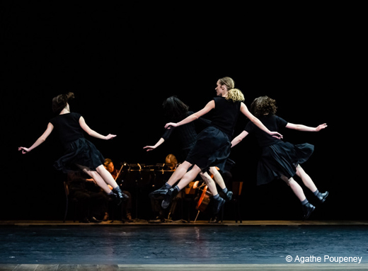 Quatuor n°4 d'Anne Teresa De Keersmaeker par le Ballet de l'Opéra de Paris