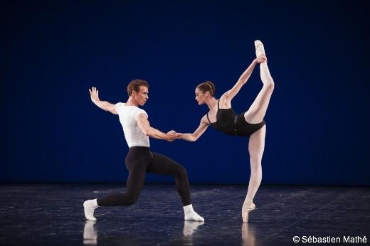 Nicolas Le Riche et Aurélie Dupont - Agon