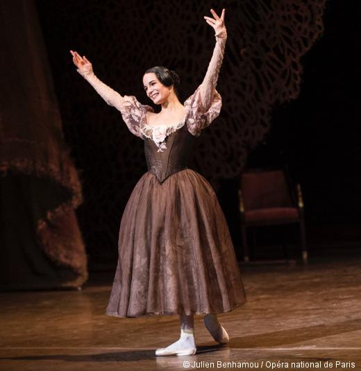 Amandine Albisson lors de sa nomination d'Étoile