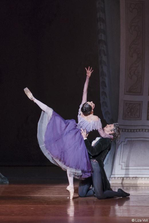 Anais Chalendard avec Sabi Varga- Oneguine