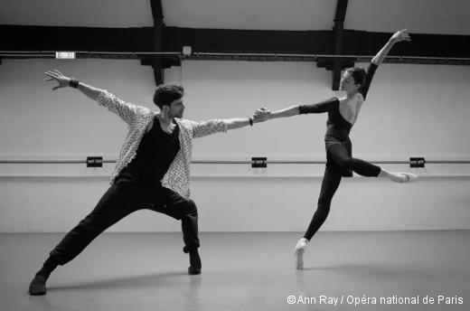 Approximate Sonata - Audric Bezard et Marie-Agnès Gillot en répétition