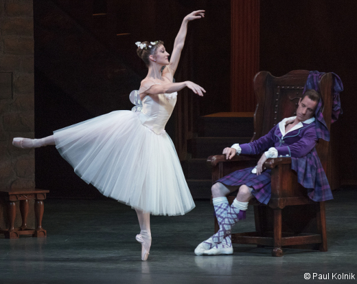 Ashley Bouder et Andrew Veyette-La Sylphide
