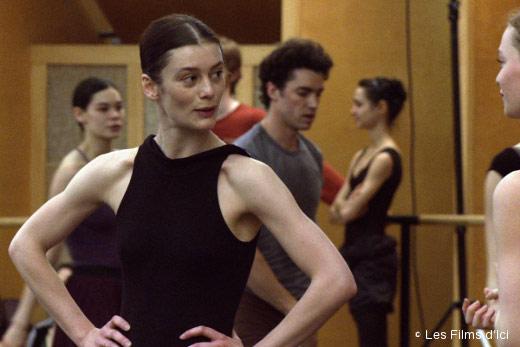 Aurélie Dupont en répétition