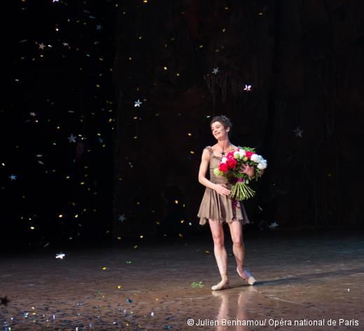 Aurélie Dupont lors de ses adieux