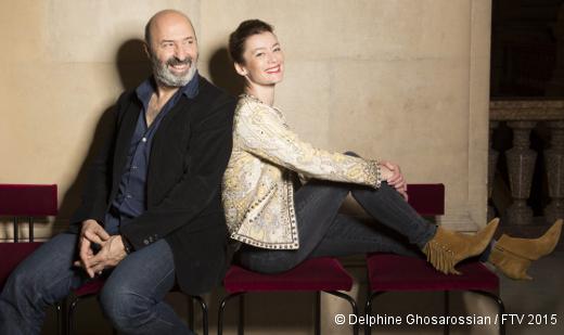 Cédric Klapisch et Aurélie Dupont