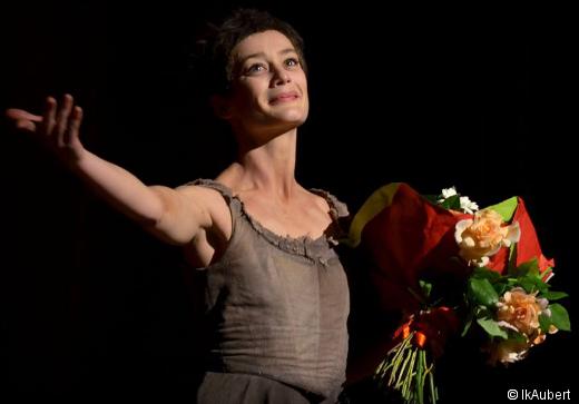 Aurélie Dupont lors de ses Adieux à la scène