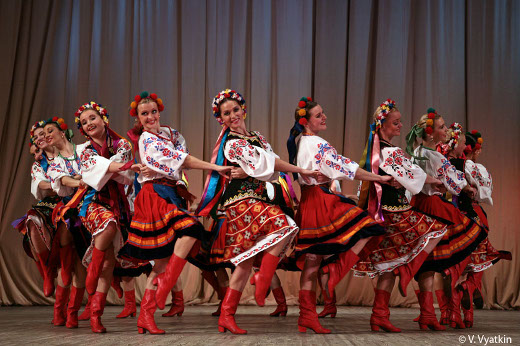 Le ballet Igor Moïsseïev