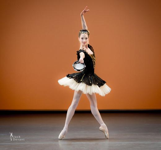 Hannah O'Neill au gala des Benois de la Danse