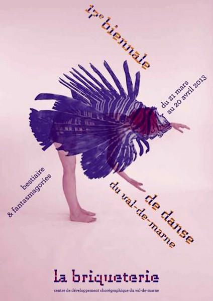Affiche de la 17e Biennale du Val-de-Marne