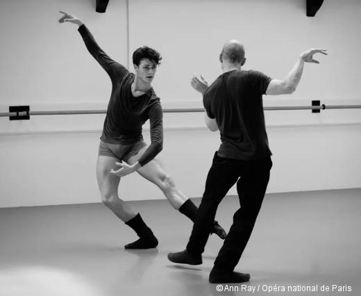 Blake Works I - Hugo Marchand avec William Forsythe en répétition