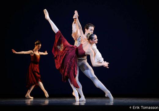 Mathile Froustey et Carlos Quenedit- Brahms Schoenberg Quartet de George Balanchine