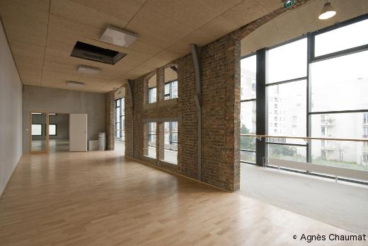 La galerie des studios - La Briqueterie
