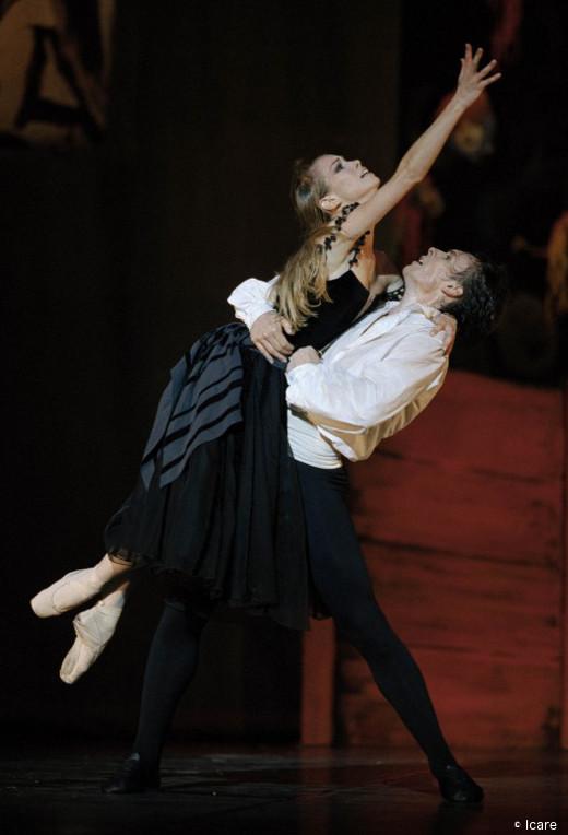 Carmen de Roland Petit - Nicolas Le Riche et Eleonora Abbagnato