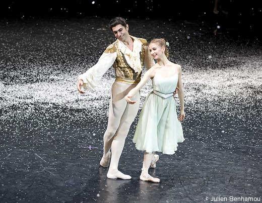 Myriam Ould-Braham dans Casse-Noisette, avec Nikolai Tsiskaridze