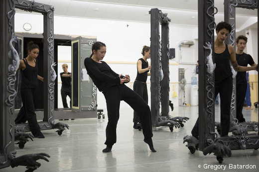 Répétition de Casse-Noisette - Ballet du Grand Théâtre de Genève