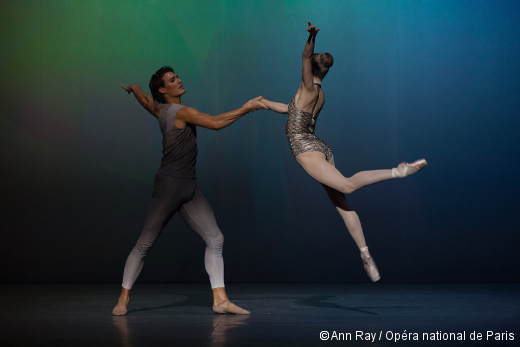 Clear, Loud, Bright, Forward de Benjamin Millepied - Hugo Marchand et Léonore Baulac