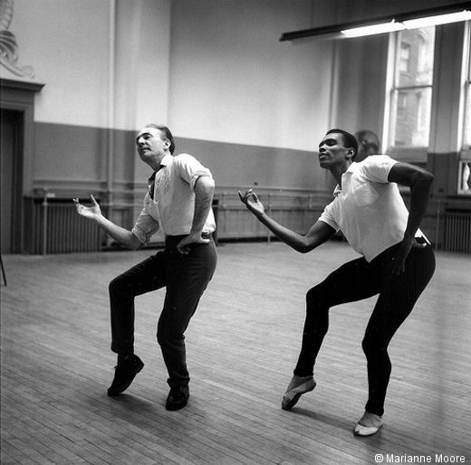 George Balanchine et Arthur Mitchell