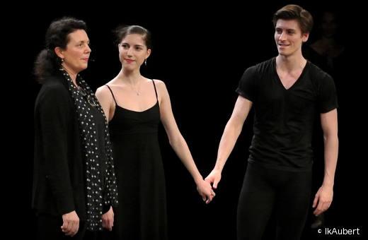 Clothilde Vayer, Héloïse Bourdon et Pierre-Arthur Raveau
