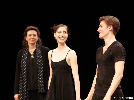 Clotilde Vayer, Héloïse Bourdon et Pierre-Arthur Raveau