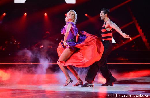 Danse avec les stars - Ophélie Winter  et Christophe Licata