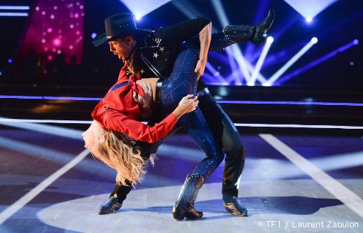 Danse avec les stars - Tonya Kinzinger et Maxime Dereymez