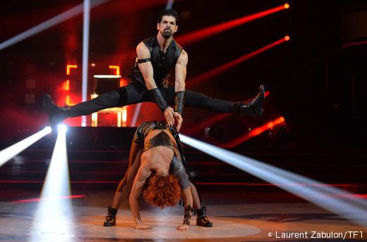 Miguel Angel Muñoz et Fauve Hautot - Danse avec les stars