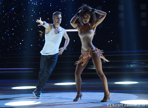 Louisy Joseph et Guillaume Foucaul - Danse avec les stars