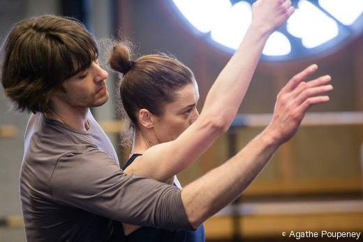 Aurélie Dupont et Hervé Moreau - Répétition de Daphnis et Chloé