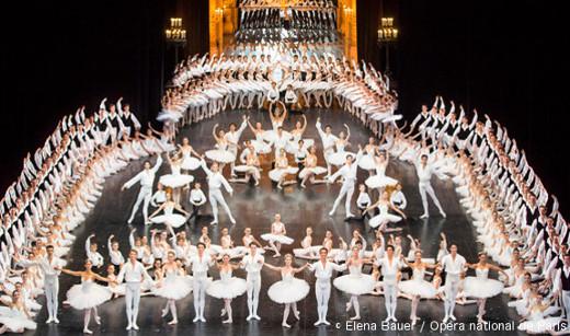 Défilé du Ballet de l'Opéra de Paris
