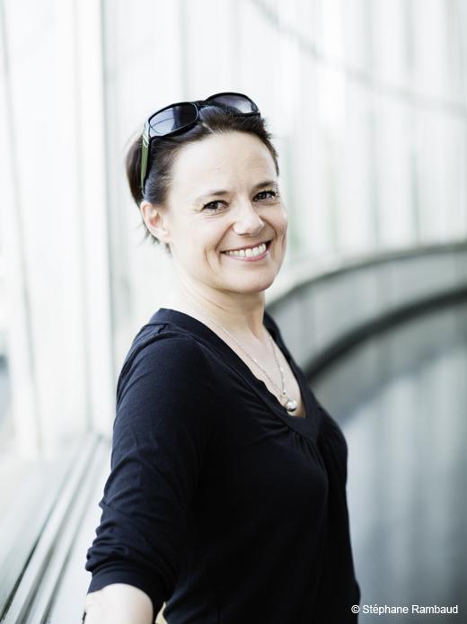 Dominique Hervieu, Directrice artistique de la Biennale de la Danse, et Directrice de la Maison de la Danse (Lyon)