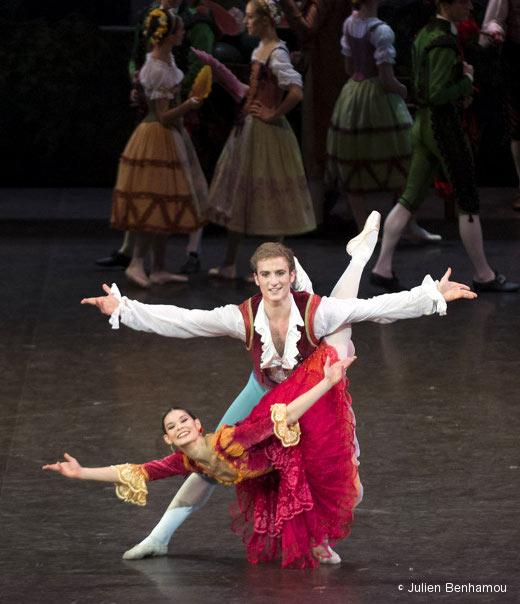 Alice Renavand avec François Alu dans Don Quichotte