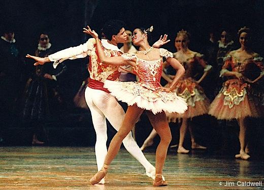 Lauren Anderson et Carlos Acosta - Don Quichotte