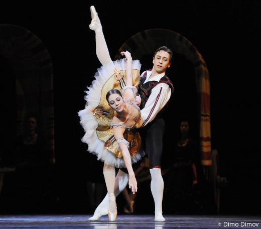 Maria Yakovleva et Denys Cherevychko - Don Quichotte