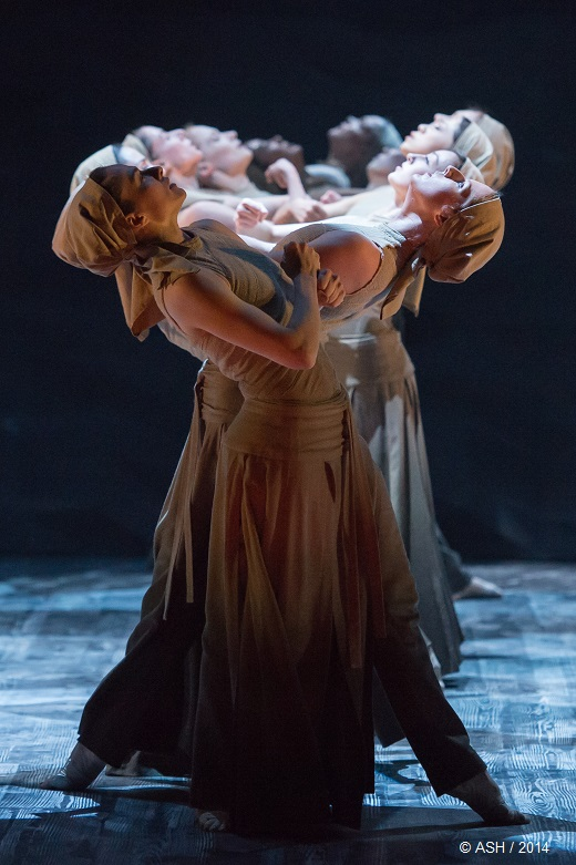 Dust, d'Akram Khan par l'English National Ballet