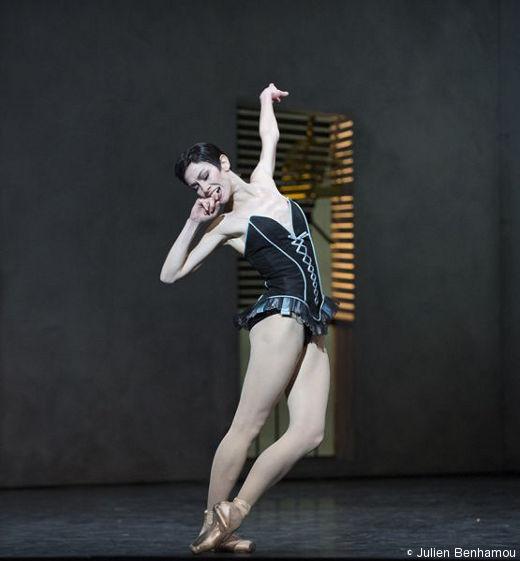 Eleonora Abbagnato dans Carmen de Roland Petit, rôle qui lui a valu sa nomination d'Étoile.