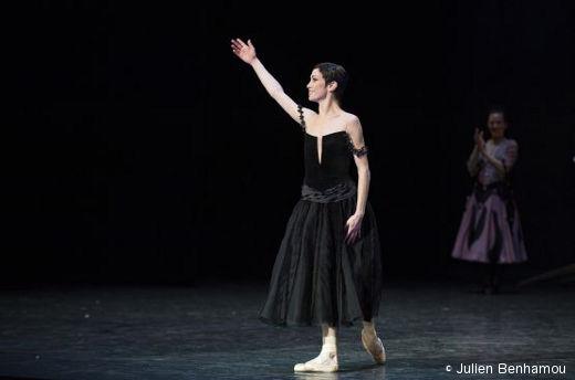 Eleonora Abbagnato lors de sa nomination d'Étoile
