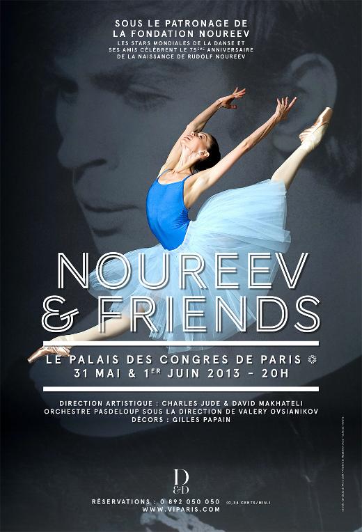 Gala Noureev & Friends - Affiche