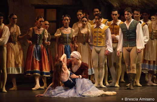 Giselle - Svetlana Zakharova et le Ballet de la Scala de Milan