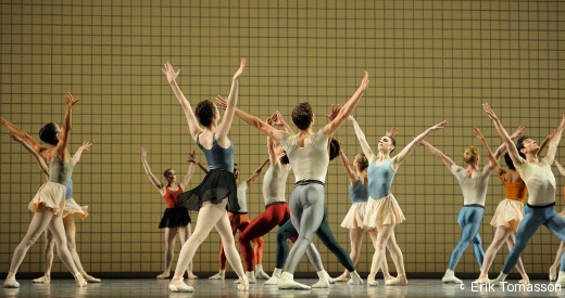 Glass Pieces de Jerome Robbins