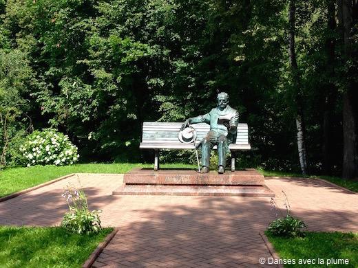 Statue Tchaïkovski